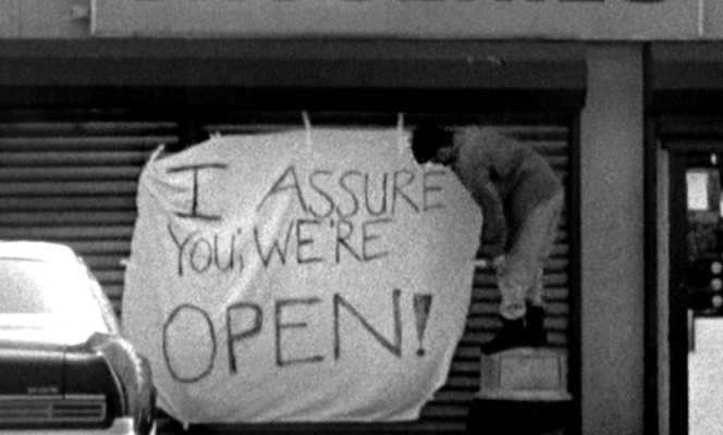 I Assure You We're Open!